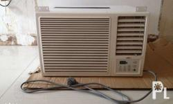 IDEC window type 1.5hp aircon for sale. Model : IWAC -