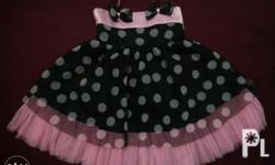 IHA polka dot dress -size 1 -worn only once by my