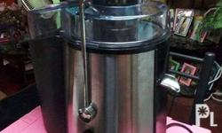 im selling my second hand koi power juicer, 3 times lng