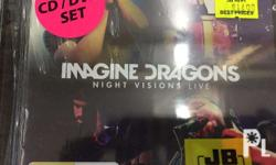 Imagine Dragons - Night Visions Live CD+DVD Made in