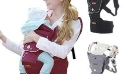 iMama hip seat baby carrier (pre-loved) Months to