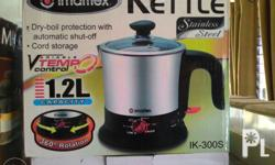 Bnew imarflex kettle, bought almost a year ago, but