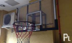 Imported basketball ring and fiberglass board