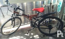 FOLDING Mountain Bike P13,000 Brand: COLEMAN With gear