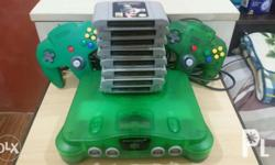 Imported Nintendo 64 with Assorted Games! :) Imported