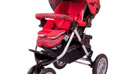 Capella Prism Stroller Dimensions: Open: 930mm x 640mm