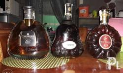 Imported wine: Php 5,500.00 each Camus xo 750 ml