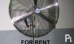 Industrial Blower fan for rent in Zambales 30-INCHES