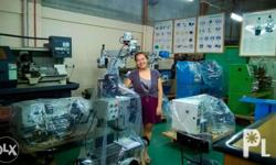 We sell Brand new Industrial machines (Lathe machines,
