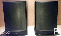 Full-size bookshelf speaker; two-way design; advanced