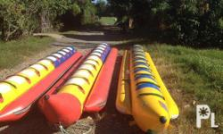 All banana boats are made of Heavy duty PVC fabric