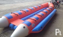New Boat type banana boat made of Heavy-Duty PVC! Easy