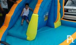 Inflatable pool with slide brandnew heavy duty