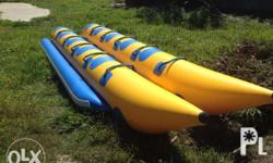 New banana boat made of Heavy-Duty PVC Thickness-0,9mm