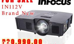 INFOCUS LCD Projector IN112v 3500 Ansi Lumens Bright