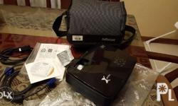 Infocus Projector X16, with complete accessories: Bag,