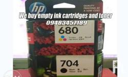 we collect ink cartridges and toner used,unused sealed