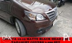 innova 2012 to 2015 matte black trims head and