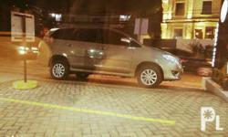 For sale: Toyota Innova May 2012 Bronze Mica 2.0 Gas