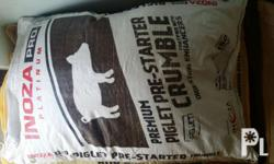 Inoza Hog Feeds is a Bounty product for Hogs. The