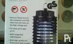 Insect killer lamp for sale. Used only few times. For