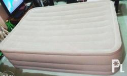 - Intex airbed queen size 2.03m x 1.52m x 56cn - Brand