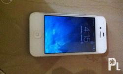 Iphone 4 16gb No dent no defect Openline kahit sim pwde