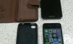selling my preloved phones..iphone 4 16gb itouch use