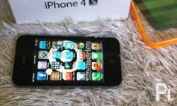 for sale or for swap: iphone 4s 16gb globe locked! (for