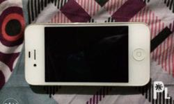 2nd hand iphone 4s white 8gb all working condition