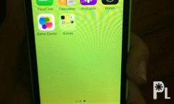 Iphone 5c 16gb Color green Openline LTE READY Good as