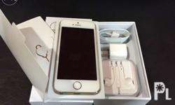 For sale iphone 5s 64gb gold 100% no defects 100%
