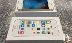 For sale iPhone 5s gold 16gb factory unlocked or
