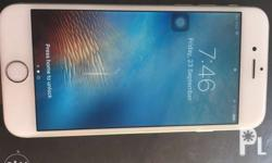 rush sale! iphone 6. 64gb color silver the unit is