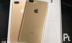 Iphone 7plus 128gb GOLD Factory unlock LTE READY No