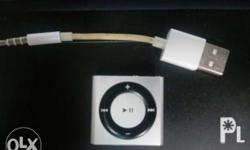Unit and cord only ipod shuffle 2gb 4th gen space gray