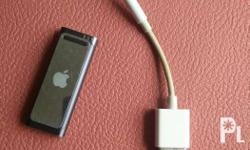 ipod shuffle with charger. good condition