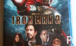 Iron Man 2 movie Blu Ray Disc Original, US copy