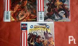 Iron Man House Of M 1-3 in near mint/mint condition