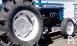 ISEKI farm tractor, in good running condition with a 35