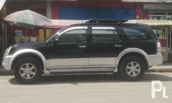 Isuzu Alterra 4x4 Automatic 2007 model Well-kept Fresh