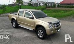 2007 Isuzu Dmax Ls 3.0 turbo Crdi engine manual rear