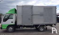 Code A19 Japan surplus ISUZU Elf Aluminum Closed Van