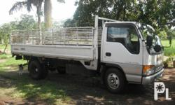 ISUZU ELF, 2008 MODEL, WHITE COLOR,14 FT. LONG, 4HF1