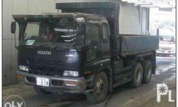 Isuzu GIGA dumptruck 10pe1 engine Reconditioned Diesel