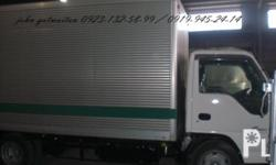 ISUZU GIGA ELF 14FT NKR ALUMINUM VAN JAPAN SURPLUS