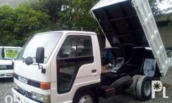 Surplus from Japan ISUZU MINI DUMP TRUCK, 4X2, 4HF1