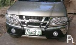 isuzu sportivo x top of the line 2012 back camera with