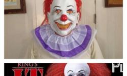 Brand new Original it pennywise Soft latex includes