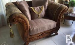 4 pc Italian Wooden Sofa set, imported, in good